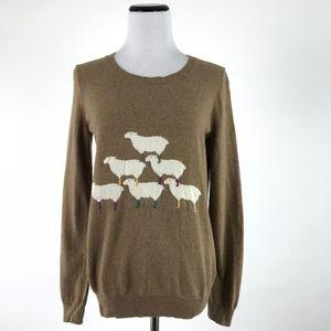 Wallace Madewell Sheep Crewneck Sweater #1278